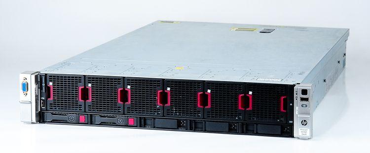 HP ProLiant DL560 Gen8 Server 4x Xeon E5-4650 8-Core 2.70 GHz, 16 GB DDR3 RAM, 2x 300 GB SAS 10K – Bild 1