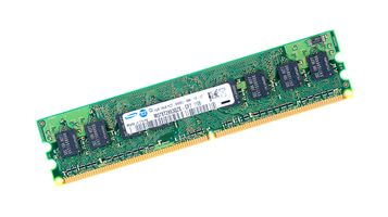 Samsung 1GB 1Rx8 PC2-6400U DDR2 unbuffered RAM Modul - M378T2863QZS-CF7