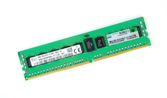 HPE 8GB 1Rx4 PC4-2133P-R / PC4-17000R DDR4 Registered Server-RAM Modul REG ECC - 803656-081