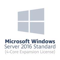 Microsoft Windows Server 2016 Standard Erweiterungslizenz für 4 Kerne (4-Core OEM Lizenz)