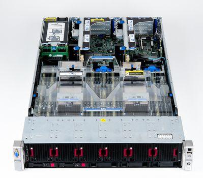 HP ProLiant DL560 Gen8 V2 Server 4x Xeon E5-4650v2 10-Core 2.40 GHz, 16 GB DDR3 RAM, 2x 300 GB SAS 10K – Bild 7