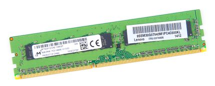 Lenovo 8GB 2Rx8 PC3-14900E DDR3 Unbuffered Server-RAM Modul ECC - 03T6808