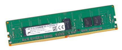 Micron 4GB 1Rx8 PC4-2133P-R / PC4-17000R DDR4 Registered Server-RAM Modul REG ECC - MTA9ASF51272PZ-2G1A2IK