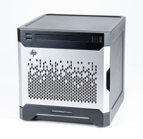 HP ProLiant MicroServer Gen8 Micro Tower Storage with Xeon E3-1265Lv2 Quad Core 2.50 GH and 24 TB 6G SAS 7.2K