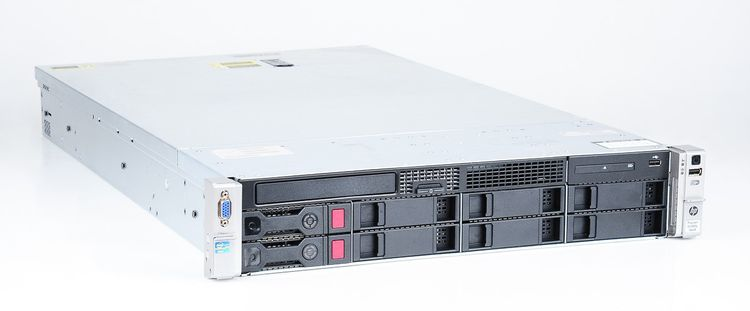 HP ProLiant DL380p Gen8 Server 2x Xeon E5-2680 8-Core 2.70 GHz, 16 GB DDR3 RAM, 2x 1000 GB SAS 7.2K – Bild 2