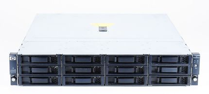 "HP StorageWorks D2600 Disk Enclosure / Shelf with 12x 2TB SAS 7.2K 3.5"" LFF Hot Swap Hard Disks - AJ940A"