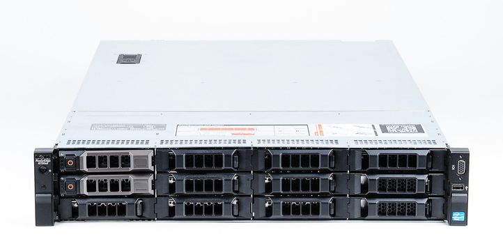 DELL PowerEdge R720xd Server 2x Xeon E5-2690 8-Core 2.90 GHz, 16 GB DDR3 RAM, 2x 1000 GB SAS 7.2K – Bild 2