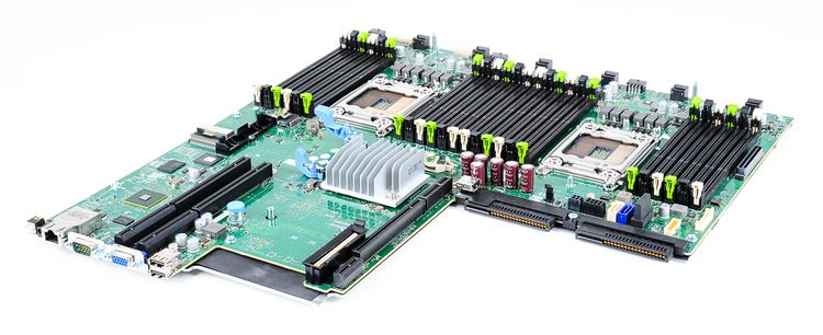 DELL PowerEdge R620 V2 Mainboard / Motherboard / System Board - 0X6H47 / X6H47 – Bild 2