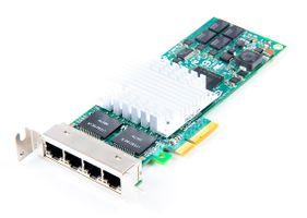 SUN Quad Port 1 Gbit/s RJ45 Ethernet Server Adapter / Netzwerkkarte PCIe x8 - 375-3481 - low profile