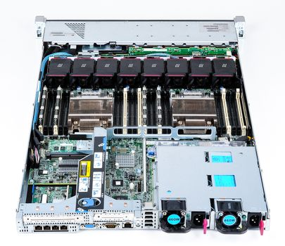 HP ProLiant DL360p Gen8 Server 2x Xeon E5-2637 Dual Core 3.00 GHz, 16 GB DDR3 RAM, 2x 300 GB SAS 10K – Bild 7