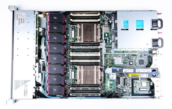 HP ProLiant DL360p Gen8 Server 2x Xeon E5-2637 Dual Core 3.00 GHz, 16 GB DDR3 RAM, 2x 300 GB SAS 10K – Bild 8