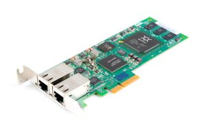 QLogic QLE4062C iSCSI 1 Gbit/s Dual Port Copper PCI-E - low profile