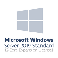 Microsoft Windows Server 2019 Standard Expansion License for 2 cores (2-core license, OPL volume license)