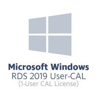 Microsoft Windows Remote Desktop Services 2019 User-CAL (1x user-CAL license, OPL volume license)