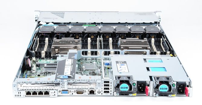 HP ProLiant DL360p Gen8 Server 2x Xeon E5-2650v2 8-Core 2.60 GHz, 16 GB DDR3 RAM, 2x 1000 GB SAS 7.2K – Bild 7