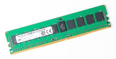 Micron 8GB 1Rx4 PC4-2133P-R / PC4-17000R DDR4 Registered Server-RAM Modul REG ECC - MTA18ASF1G72PZ-2G1A2KI