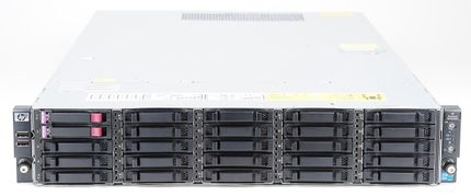 HP ProLiant SE326M1 Storage Server 2x Xeon X5660 Six Core 2.80 GHz, 16 GB DDR3 RAM, 2x 300 GB SAS 10K