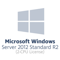 Microsoft Windows Server 2012 Standard R2 for 2x CPUs (2-CPU license bundle, OPL volume license)