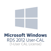 Microsoft Windows Remote Desktop Services 2012 User-CAL (1x user-CAL license, OPL volume license)
