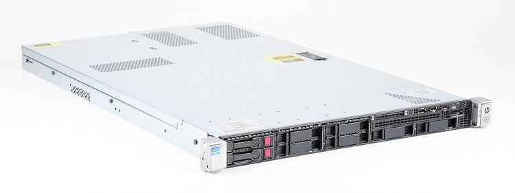HP ProLiant DL360e Gen8 Server 2x Xeon E5-2450L 8-Core 1.80 GHz, 16 GB DDR3 RAM, 2x 300 GB SAS 10K – Bild 3