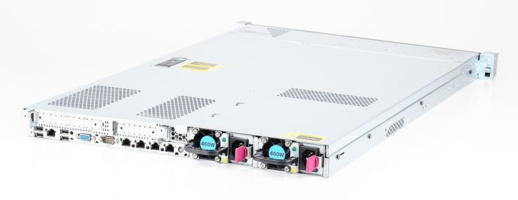 HP ProLiant DL360e Gen8 Server 2x Xeon E5-2450L 8-Core 1.80 GHz, 16 GB DDR3 RAM, 2x 300 GB SAS 10K – Bild 4