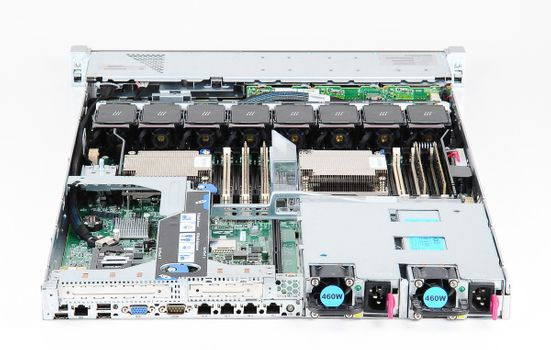HP ProLiant DL360e Gen8 Server 2x Xeon E5-2450L 8-Core 1.80 GHz, 16 GB DDR3 RAM, 2x 300 GB SAS 10K – Bild 7