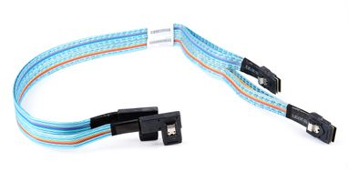 HP SAS Backplane Cable / Datenkabel - ProLiant DL380e Gen8 - SFF-8087, angled, 70cm - 686614-001