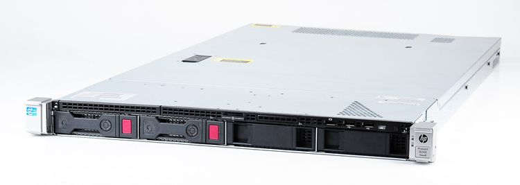 HP ProLiant DL160 Gen8 Server 2x Xeon E5-2680 8-Core 2.70 GHz, 16 GB DDR3 RAM, 2x 1000 GB SAS 7.2K – Bild 1