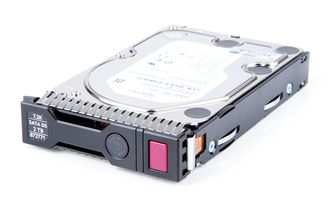 "HPE 2TB 6G 7.2K SATA 3.5"" LFF Hot Swap Festplatte / Hard Disk mit Smart Carrier - 872771-001 / 872489R-B21"