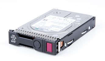 "HPE 6TB 6G 7.2K SATA 3.5"" LFF Hot Swap Festplatte / Hard Disk mit Smart Carrier - 862138-001 / 861750R-B21"