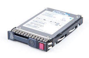 "HP 200GB 3G SATA SSD 2.5"" SFF Hot Swap Festplatte / Hard Disk mit Smart Carrier - 653966-001"