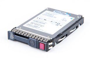 "HP 200GB 3G SATA SSD 2.5"" SFF Hot Swap Festplatte / Hard Disk mit Smart Carrier - 653966-001"