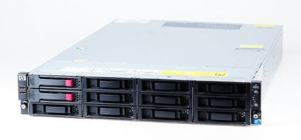 HP ProLiant DL180 G6 Storage Server 2x Xeon X5560 Quad Core 2.80 GHz, 16 GB DDR3 RAM, 2x 1000 GB SAS 7.2K