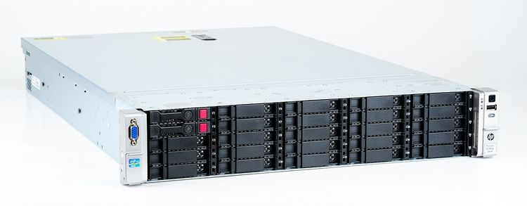 HP ProLiant DL380p Gen8 Storage Server 2x Xeon E5-2630L Six Core 2.00 GHz, 16 GB DDR3 RAM, 2x 300 GB SAS 10K – Bild 3