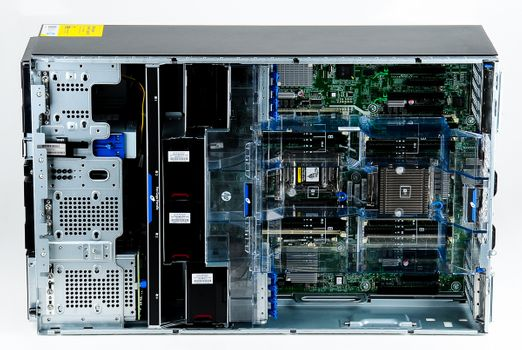 HP ProLiant ML350p Gen8 Server 2x Xeon E5-2670v2 10-Core 2.50 GHz, 16 GB DDR3 RAM, 2x 300 GB SAS 10K - Tower – Bild 7