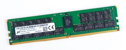Micron 32GB 2Rx4 PC4-2400T-R / PC4-19200R DDR4 Registered Server-RAM Modul REG ECC - MTA36ASF4G72PZ-2G3D1QG