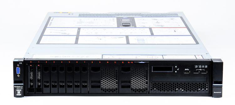 Lenovo System x3650 M5 Server 2x Xeon E5-2698v3 16-Core 2.30 GHz, 16 GB DDR4 RAM, 2x 300 GB SAS 10K – Bild 2