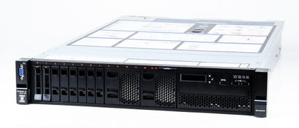 Lenovo System x3650 M5 Server 2x Xeon E5-2698v3 16-Core 2.30 GHz, 16 GB DDR4 RAM, 2x 300 GB SAS 10K
