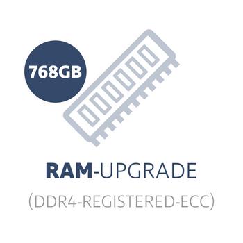 RAM-upgrade to 768 GB DDR4 Registered ECC (24x 32 GB memory module) – Bild 1
