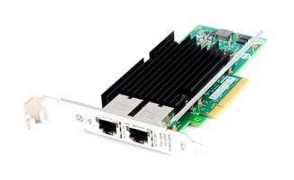 HPE 561T Dual Port 10 Gbit/s RJ45 Ethernet Server Adapter / Netzwerkkarte PCIe x8 - 717708-002