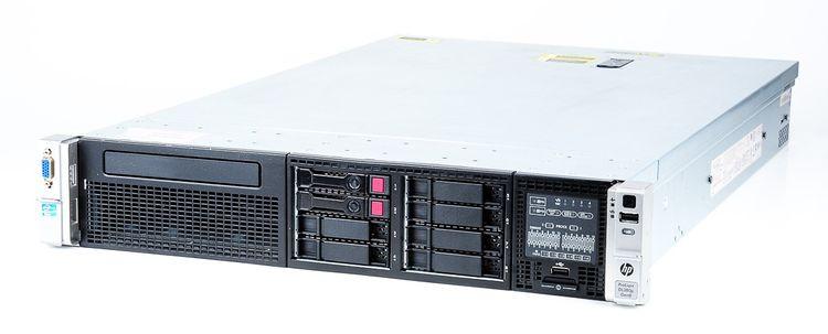 HP ProLiant DL380p Gen8 Server 2x Xeon E5-2643 Quad Core 3.30 GHz, 16 GB DDR3 RAM, 2x 300 GB SAS 10K – Bild 1