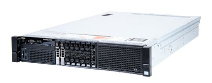 DELL PowerEdge R820 Server 4x Xeon E5-4650 8-Core 2.70 GHz, 16 GB DDR3 RAM, 2x 300 GB SAS 10K