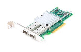 DELL X520-DA2 Dual Port 10 Gbit/s SFP+ Ethernet Server Adapter / Netzwerkkarte PCIe x8 - 0XYT17 / XYT17