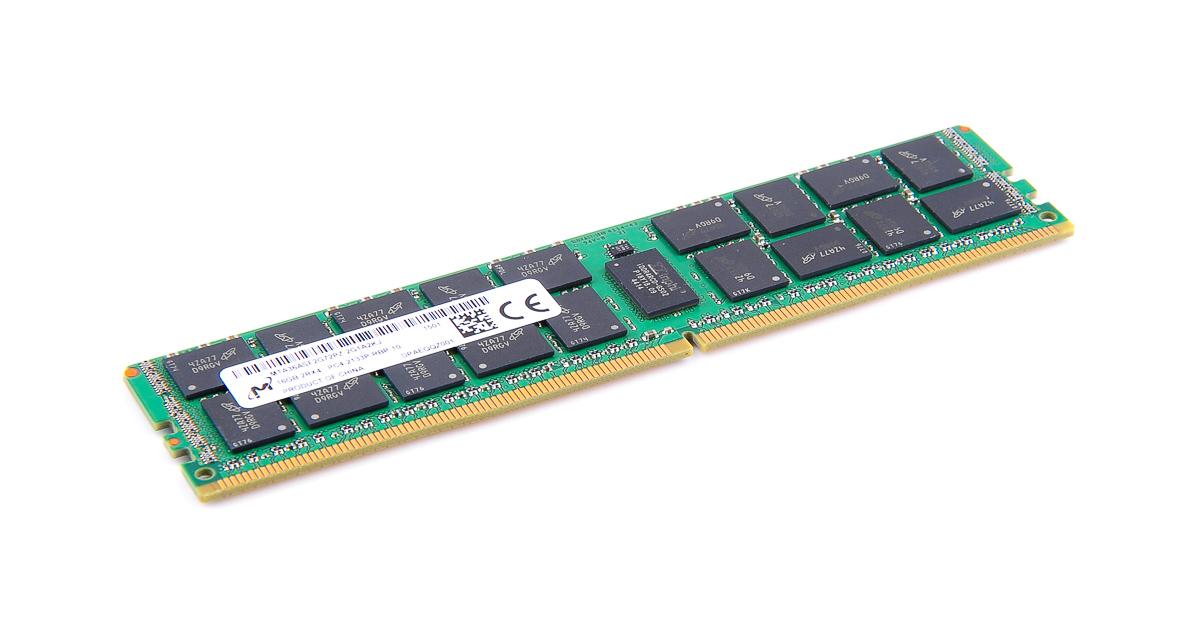 2RX4 PC4-2133P-RBP DDR4 MEMORY 1X16GB MTA36ASF2G72PZ-2G1A2 MICRON 16GB