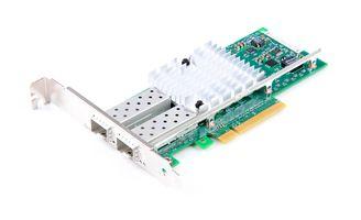 DELL X520-DA2 Dual Port 10 Gbit/s SFP+ Ethernet Server Adapter / Netzwerkkarte PCIe x8 - 02094N / 2094N