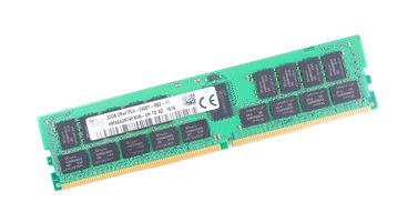 SK hynix 32GB 2Rx4 PC4-2400T DDR4 Registered Server-RAM Modul REG ECC - HMA84GR7AFR4N-UH