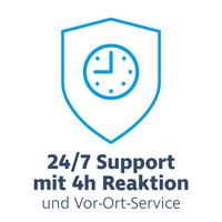 Hardware Care Pack für HP ProLiant DL580 Gen8 Server - 3 Jahre mit 24/7 Support mit 4h Reaktionszeit und Vor-Ort-Service