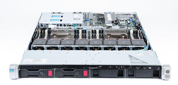 HP ProLiant DL360p Gen8 Server 2x Xeon E5-2603 Quad Core 1.80 GHz, 16 GB DDR3 RAM, 2x 1000 GB SAS 7.2K – Bild 6