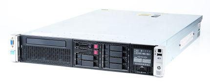 HP ProLiant DL380p Gen8 Server 2x Xeon E5-2603 Quad Core 1.80 GHz, 16 GB DDR3 RAM, 2x 300 GB SAS 10K