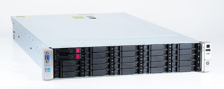 HP ProLiant DL380e Gen8 Storage Server 2x Xeon E5-2403 Quad Core 1.80 GHz, 16 GB DDR3 RAM, 2x 300 GB SAS 10K – Bild 3